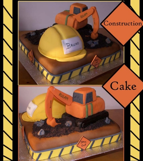 Image detail for -Construction Cake by inspireddecorator on Cake Central