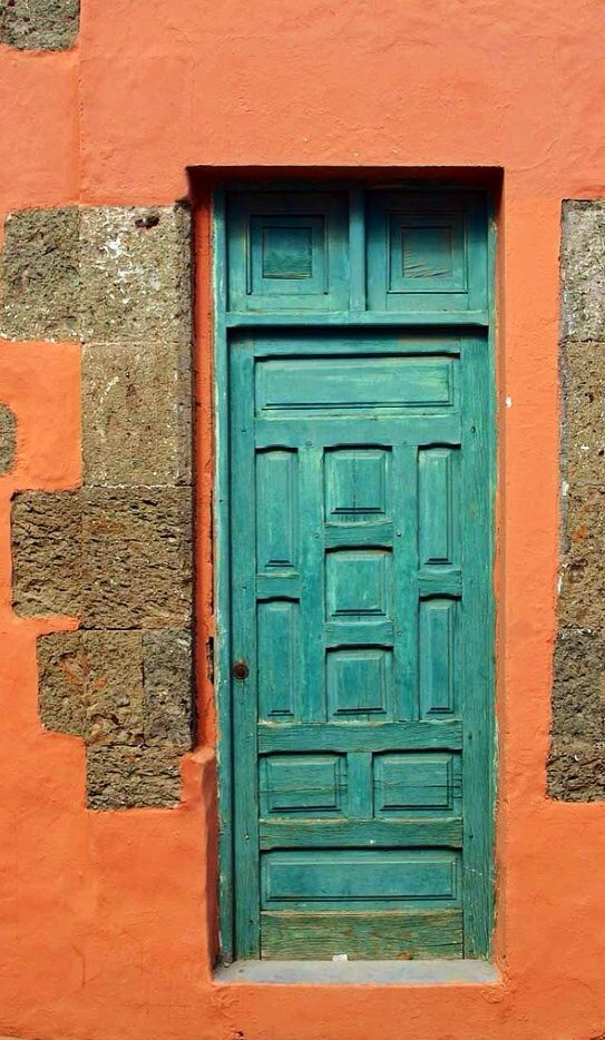 green door Gran Canaria, Canary Islands, Spain