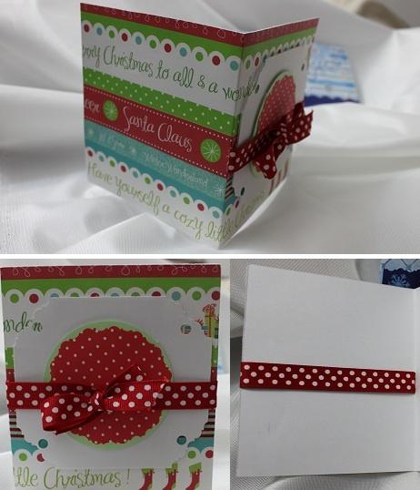 Merry Christmas - cute handmade card