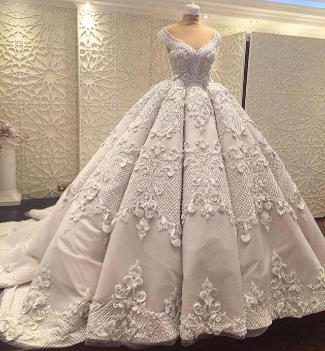 Wedding Gown by Dar Sara