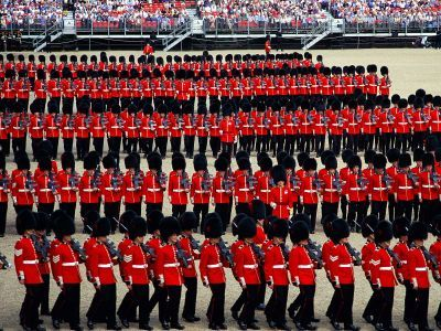 trooping the colour,london