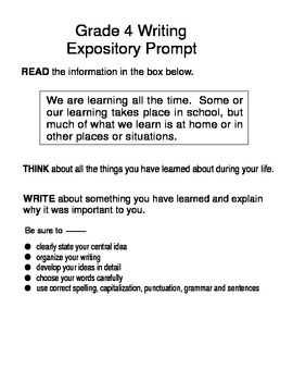 7th grade writing prompts 7th grade writing prompt 8th grade writing prompt grade 8 sample writing prompts (gwinnett county public schools) biology it presents how and why to teach writing in science courses mit technical writing tutorial.