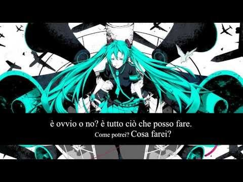 【Hatsune Miku 】 Love Is War ~Italian Version~ (piano arrange) - YouTube