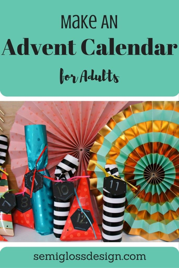 Unique Advent Calendar Ideas : Unique adult advent calendar ideas on pinterest