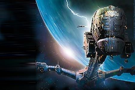 Ship from Event Horizon, 1997.