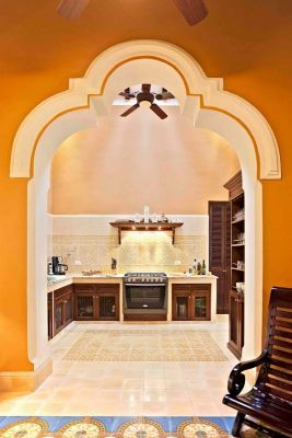 Mexican Design Mexican Style Latin America Traditional Kitchens Merida