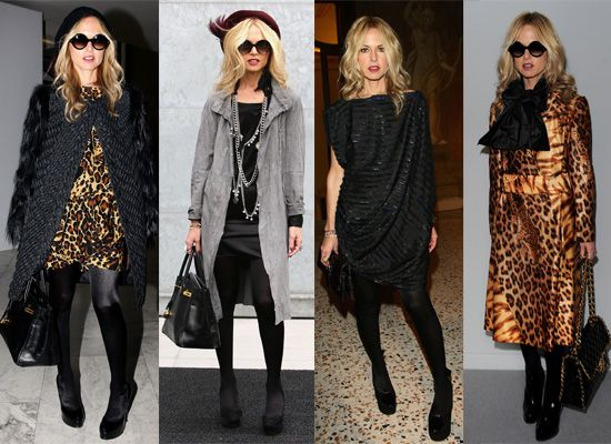 Rachel Zoe...little bit of leopard