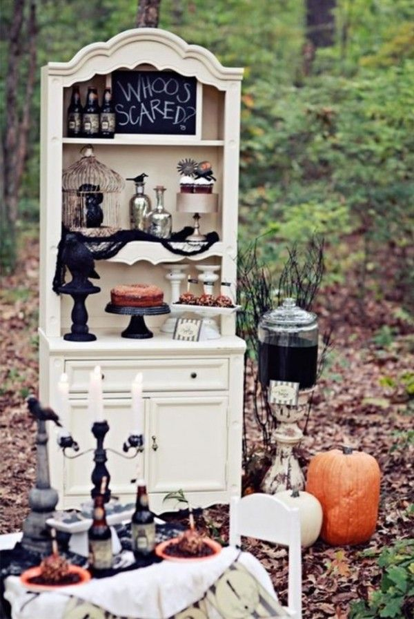 cool outdoor halloween party ideas picture - Outside Halloween Party Ideas