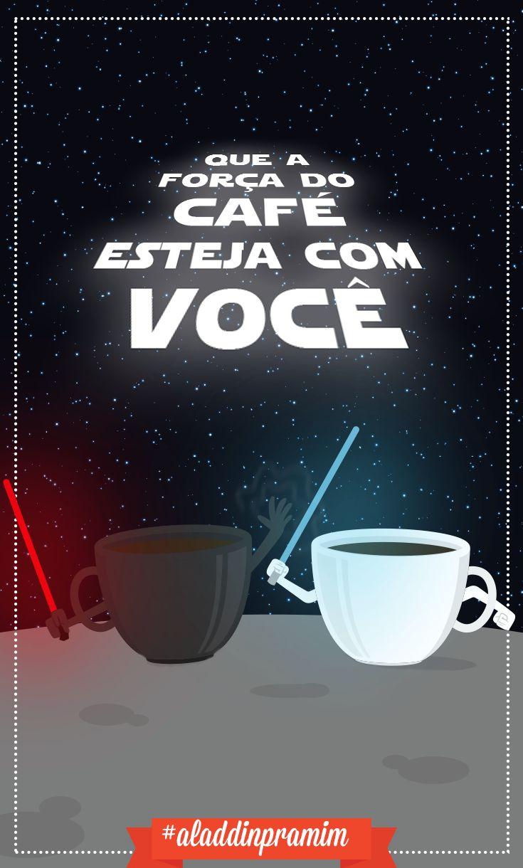 O Império do café contra ataca!#aladdinpramim#café #starwars
