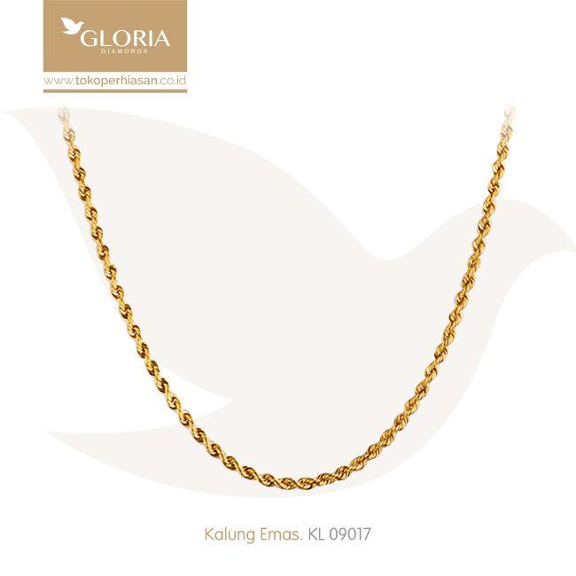 Kalung Korea Model Panjang. #goldnecklace #necklace #goldstuff #gold #goldjewelry #jewelry #perhiasanemas #kalungemas #tokoperhiasan #tokoemas
