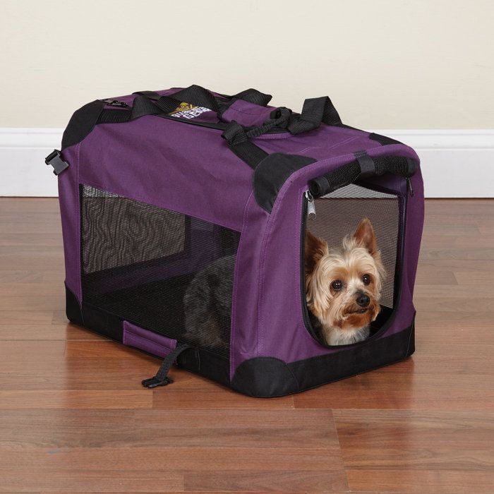 Soft dog crates make traveling with pets easier than ever.