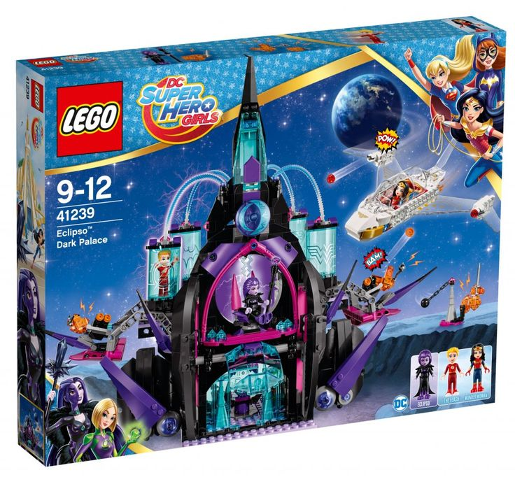 LEGO® DC Super Hero Girls 41239 Eclipso™ Mörkrets palats