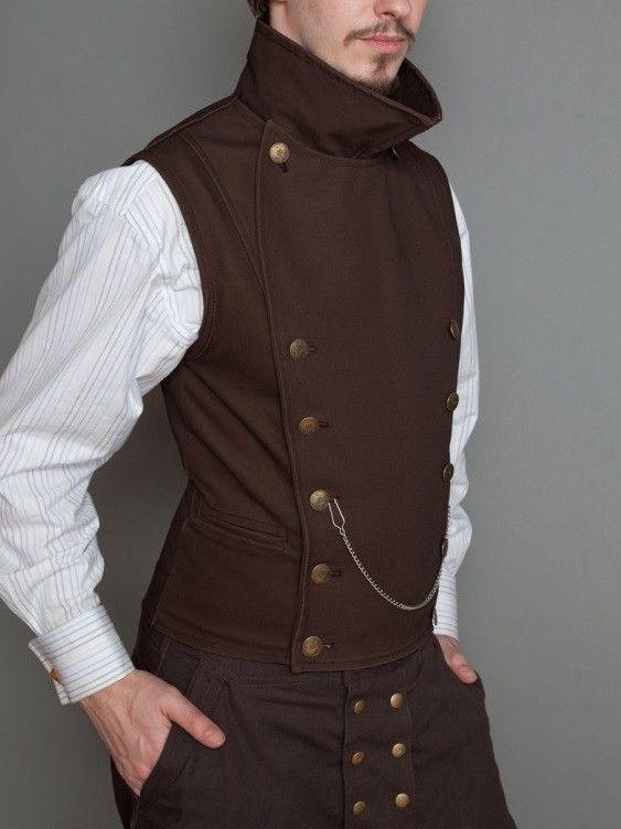 PINKERTON VEST | BROWN from Lastwear