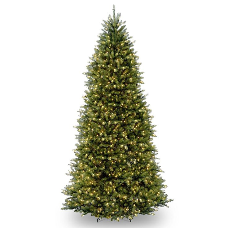 the holiday aisle fir hinged green artificial christmas tree with 1200 clear lights - 20 Ft Christmas Tree