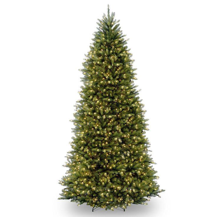 15ft Pre-lit Dunhill Fir Artificial Christmas Tree