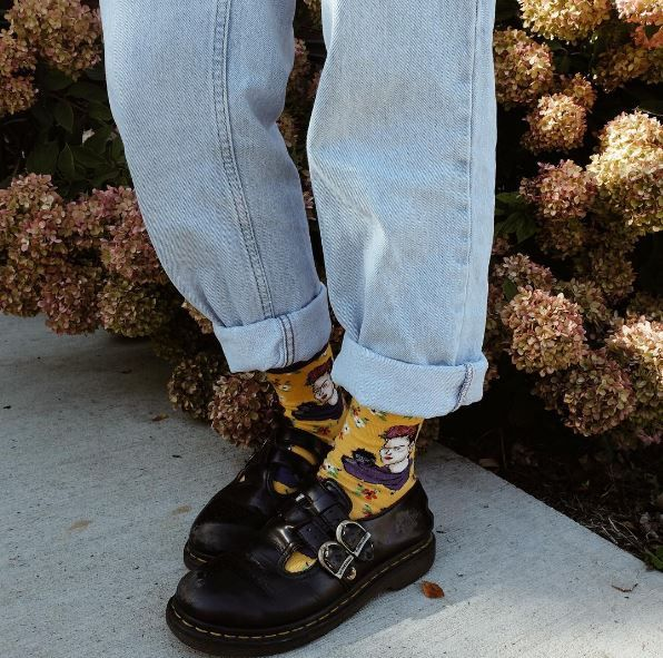 Docs and Socks: Vintage Docs, shared by caseylyons.