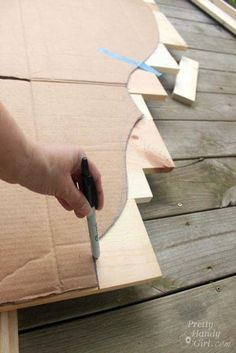 How to Create a Rustic Wood Headboard for $80 | Pretty Handy Girl                                                                                                                                                                                 More