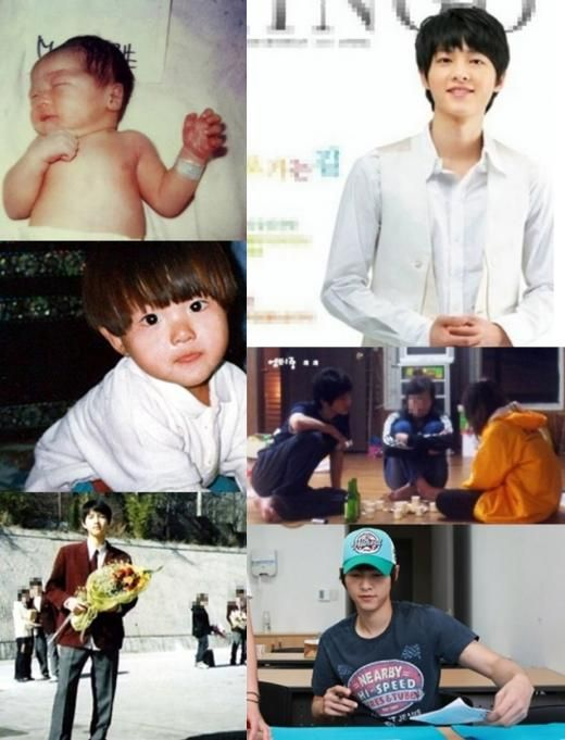Pictures of actor Song Joong Ki's growth process grab attention