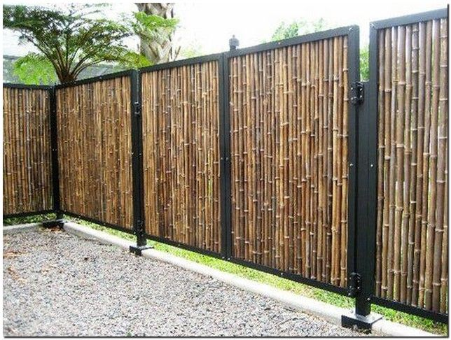 30 Backyard Garden Fence Decor Ideas 12 Aero Dreams Backyard