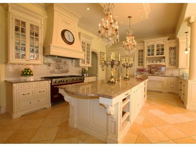 magnificent french chateau kitchen traditional pinterest