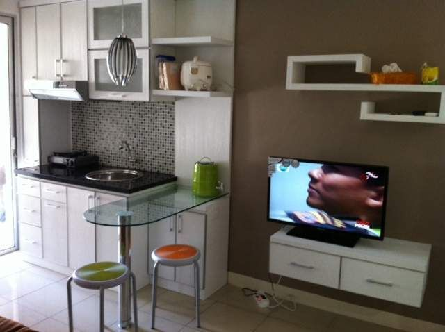 Dapur Minim Apartment DesignStudio