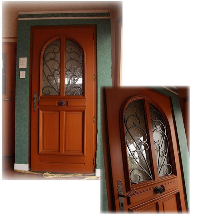 大阪ショールームで展示中のドアをご紹介 フランス製玄関ドア お洒落