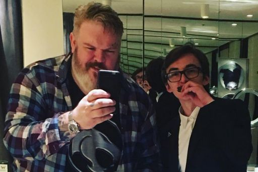 'Game of Thrones': Hodor Actor Gets Amazing 'Hold The Door' Cake (Photos)