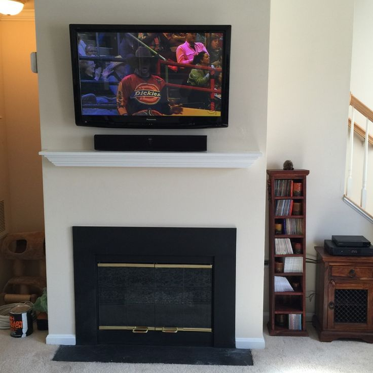 25 Best Vulcan Fireplace Tv Installation Images On