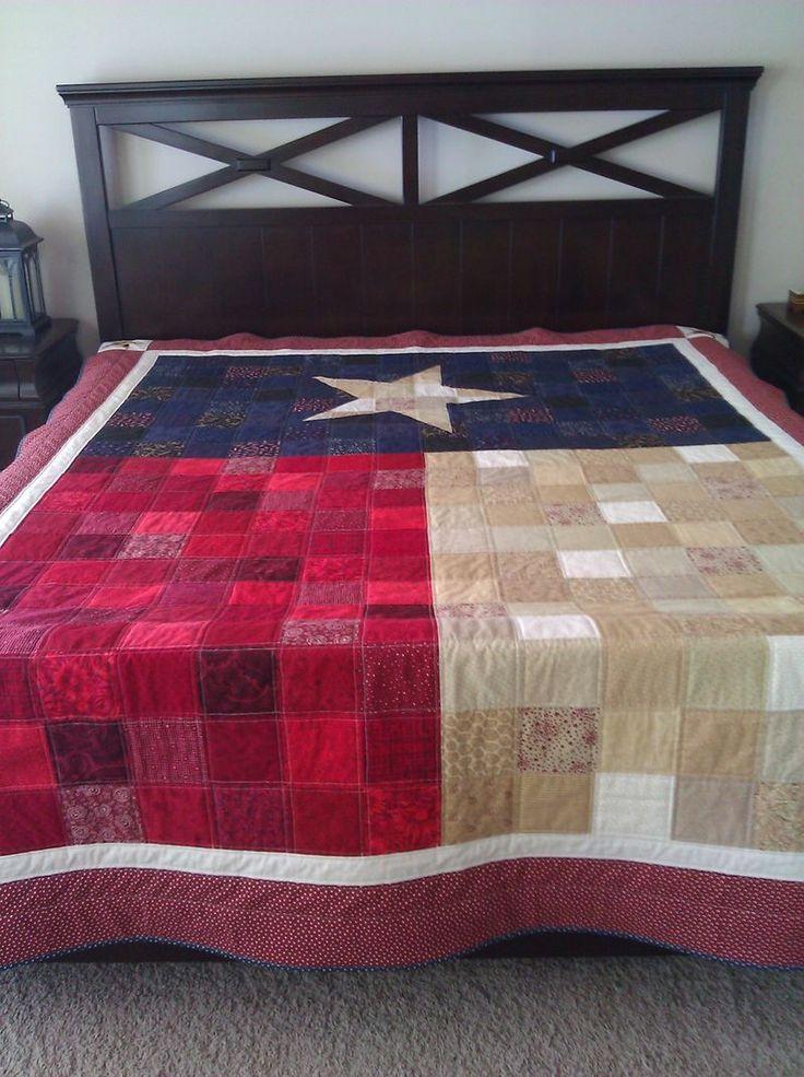 Texas Flag Quilt                                                                                                                                                                                 More