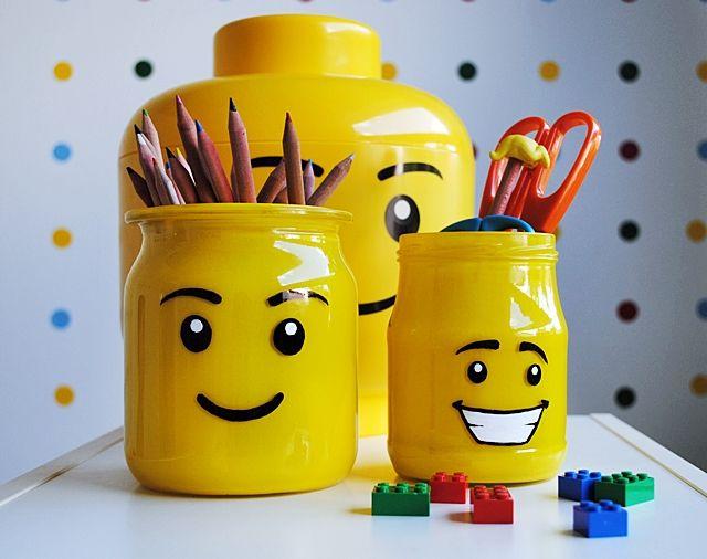 anunkblog: DIY: Hrátky s legem/DIY Lego pencil holder