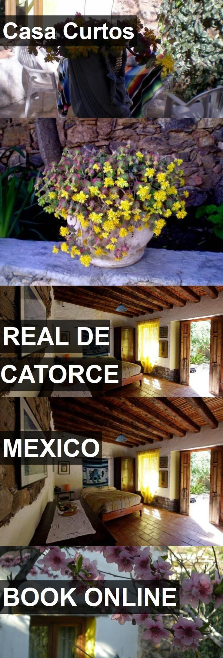 Hotel Casa Curtos in Real de Catorce, Mexico. For more information, photos, reviews and best prices please follow the link. #Mexico #RealdeCatorce #travel #vacation #hotel