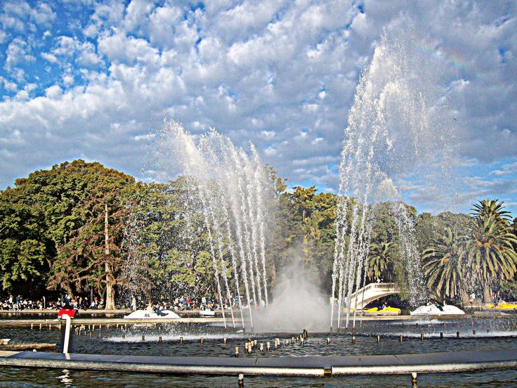 Laguito del Parque Independencia - Rosario- Santa FE