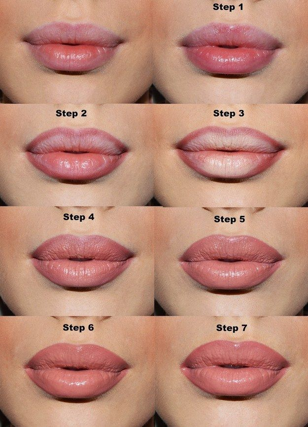 If you want to fake fuller lips, applying light pencil in the center of your lips will do the trick. | 47 Lazy-Girl Beauty Hacks Everyone Should Know