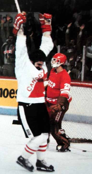 1981 Clark Gillies Team Canada  -Canada Cup