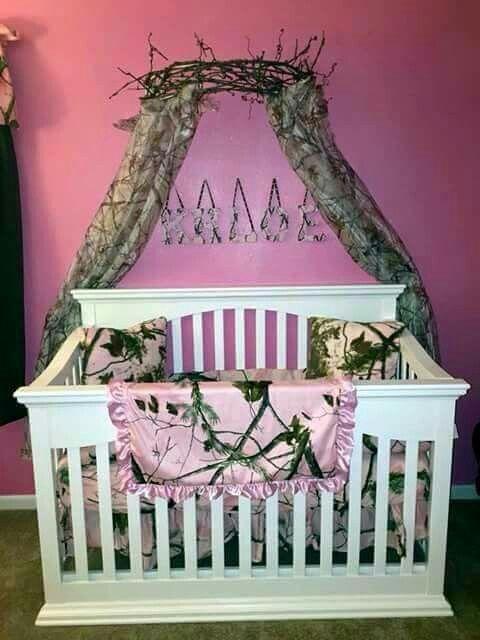 Perfect redneck baby girl nursery.