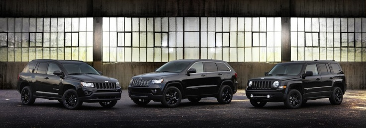 2012 New Jeep Altitude Line up Grand Cherokee Compass Patriot