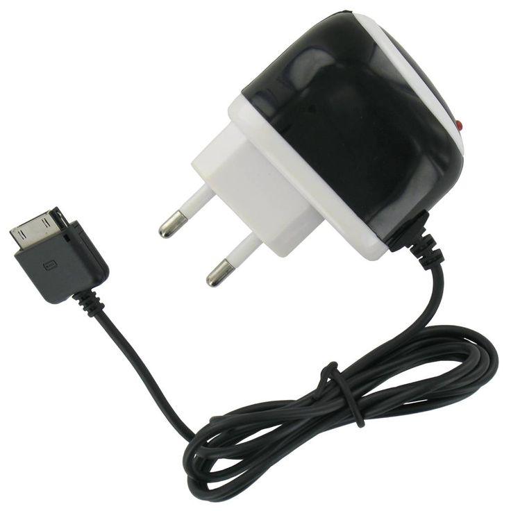 AC Oplader voor iPhone, iPad en iPod Zwart/Wit