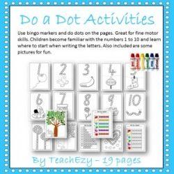 Do a Dot Activities