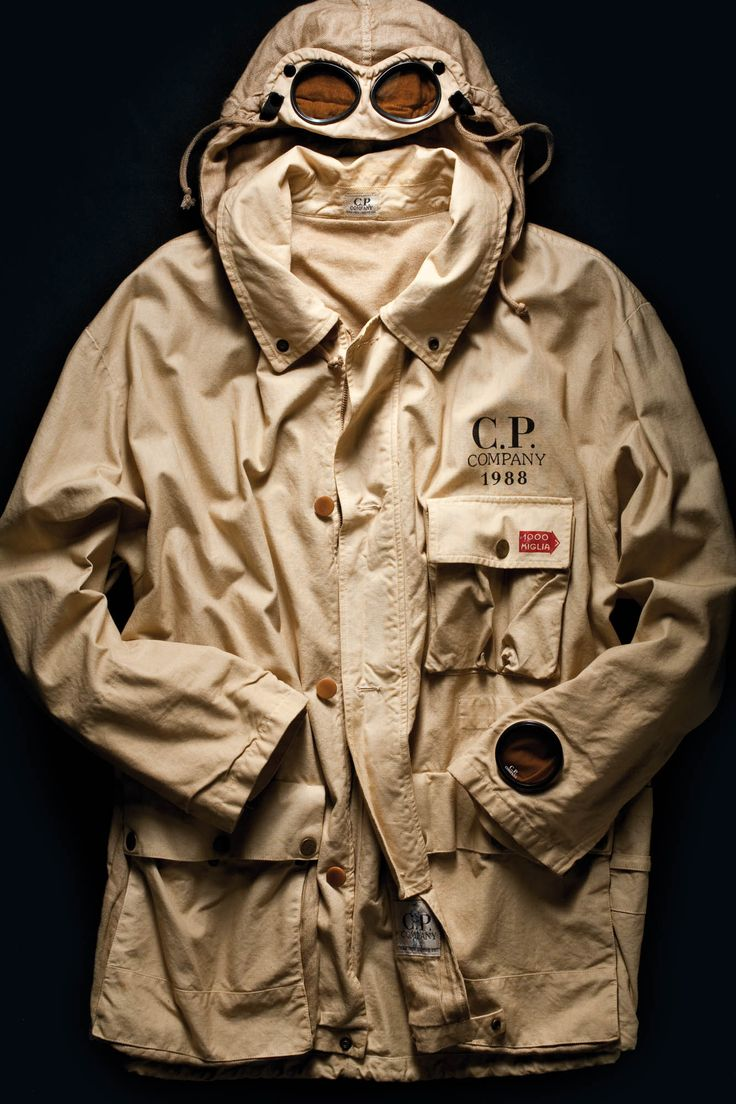 C P Company Google Jacket First Edition Made For