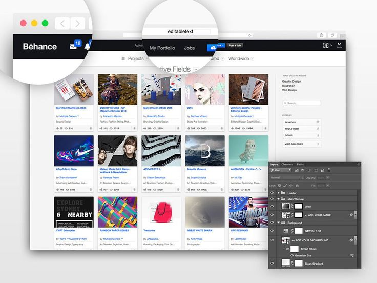 This is something web designers needs all the time. Free Safari web browser photoshop mockup set to display your website templates and theme. Super pr...