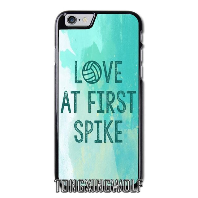 info for b7b8c 6ef14 Love Volleyball Cover Case For Iphone 4 4s 5 5c 5s se 6 6s 7 8 plus ...