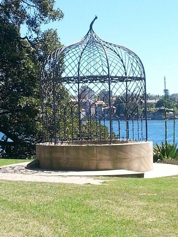 A Folly for Mrs. Macquarie by Fiona Hall. Royal Botanical Gardens, Sydney