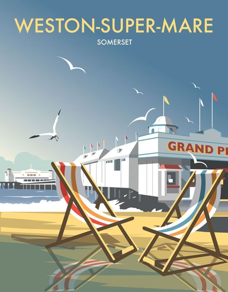 Weston Super Mare Art Print