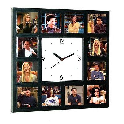 Big Friends TV Show Clock Ross Joey Chandler Rachel Phoebe Monica pictures