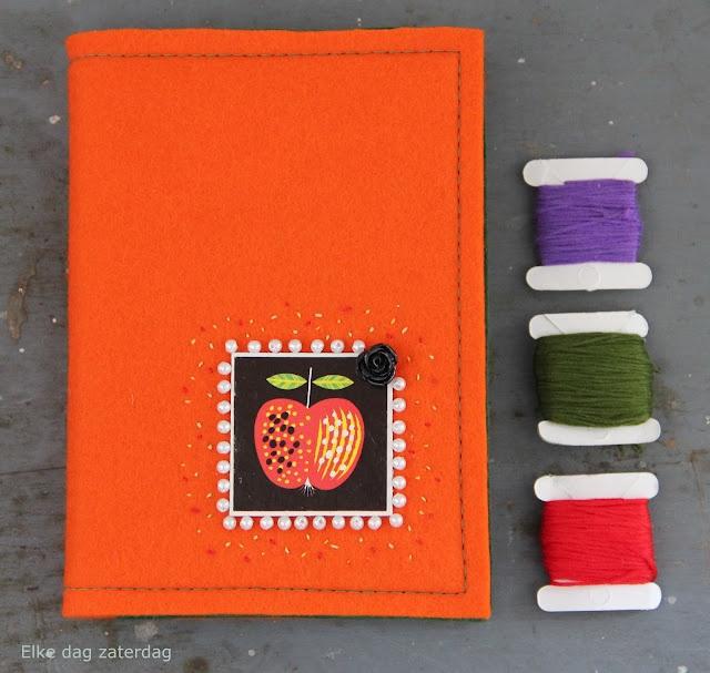 Handmade memorynotebook