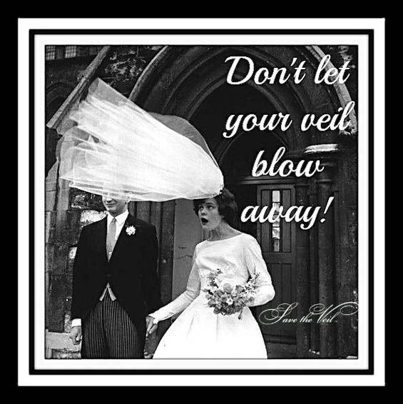 If you're wearing a veil on your wedding day then you must have a beautiful magnet from Save the Veil to keep it from flying all over the place on your big day. Learn how to win one in this post! #giveaway