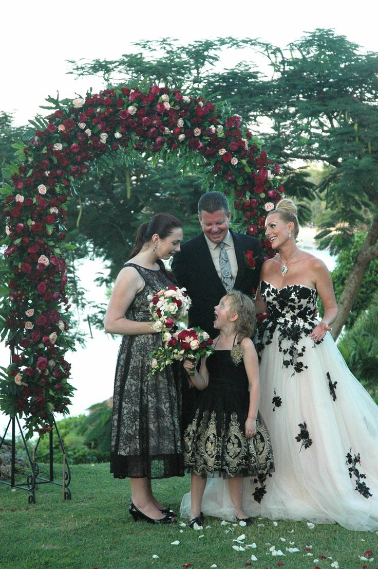 (Vow Renewal #family) Love the colors in this.