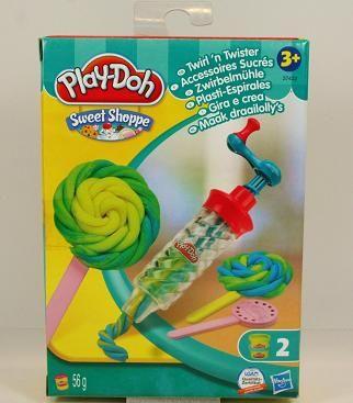 Playdoh twister draait de klei in een mooie sliert. Nu met 50% korting. www.kleishop.nl