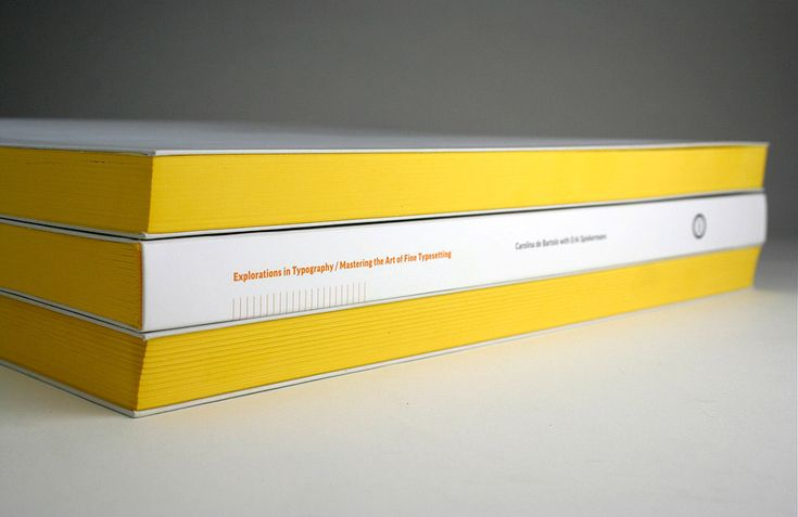 Explorations in Typography: Mastering the Art of Fine Typesetting by Carolina de Bartolo with Erik Spiekermann $65