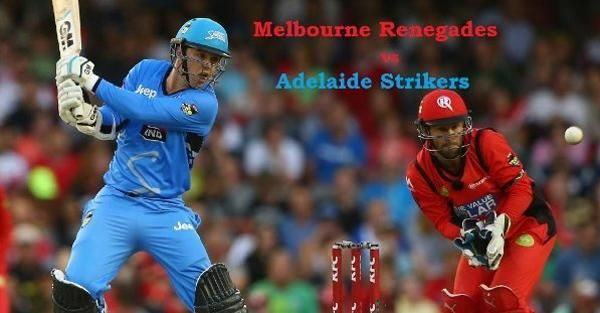 Which team will win the Melbourne Renegades VS Adelaide Strikers, 27th Match of BBL 2016-17? Winner of MLR Vs ADS in BBL 2017 will gain some respect for themselves. Melbourne Renegades VS Adelaide Strikers is not much important.